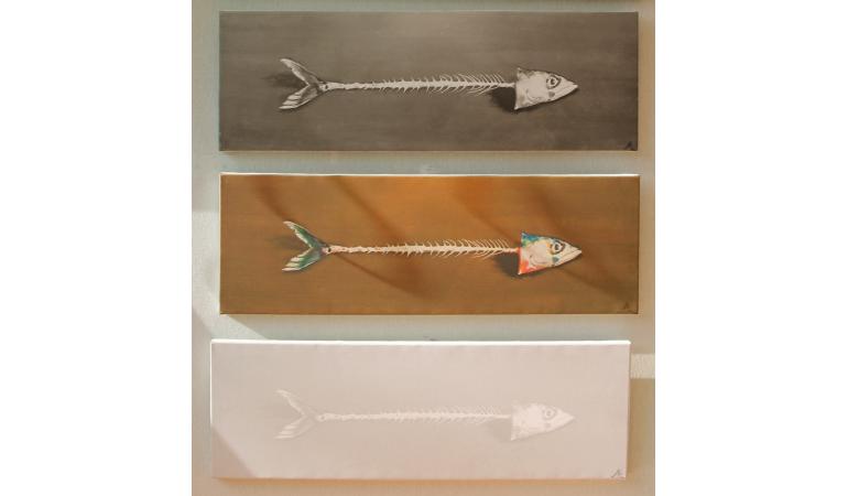 Triptyque de poissons
