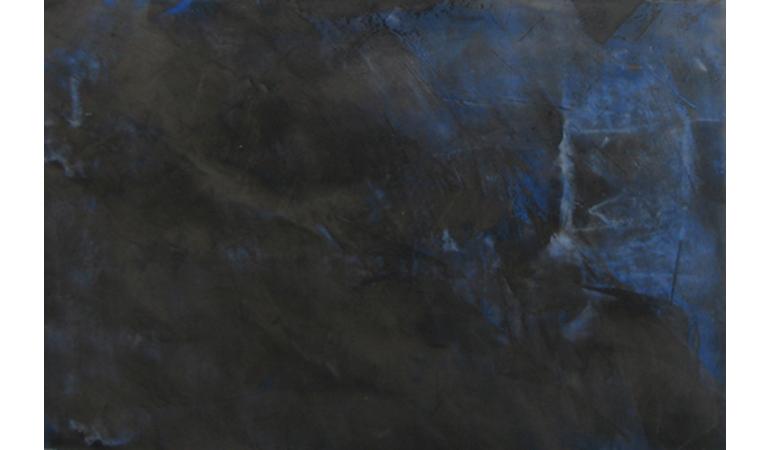 Eclats de bleu sur ardoise