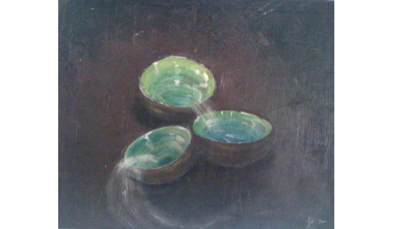 Les bols verts